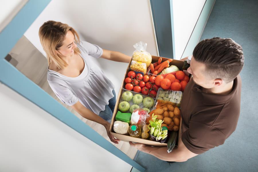 Употребление свежих продуктов