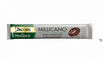 Кофе JACOBS MONARCH MILLICANO сублим 1.8г